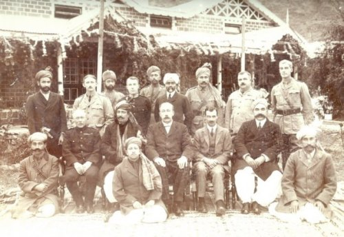 1917 Darband AMB Rt to Lt Nawab Khan Zaman Khan,Rooskeeple, last Sahibzada Qayum Khan