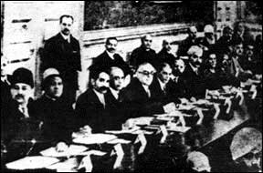Round Table Conference in 1935 in London with Sahibzada Abdul Qayyum British Loyal Bureaucrat from NWFP