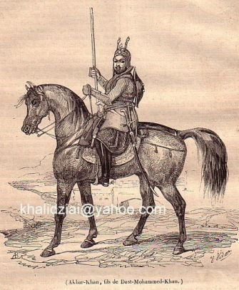 Amir Dost Muhammad Khan King of India and Afghanistan Till He lost it to British and his Partner Ranjit Singh .